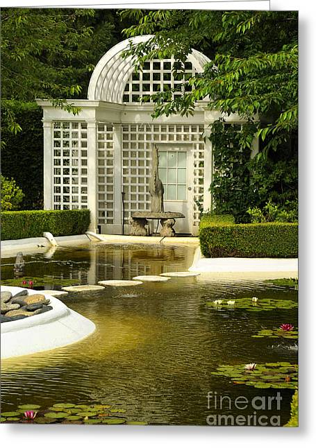 A Beautiful Place To Sit Greeting Card