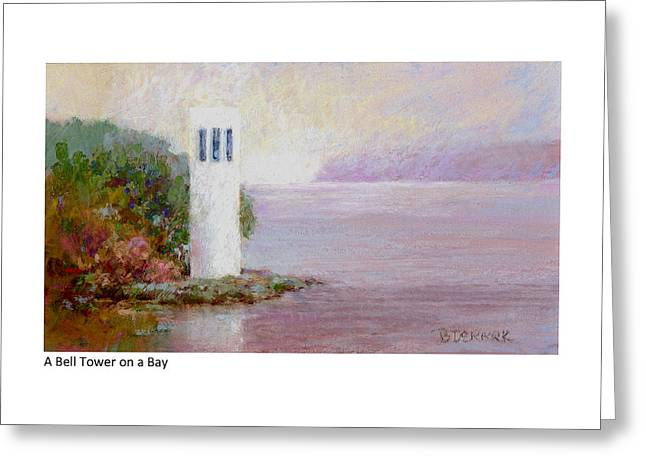 A Bell Tower On A Bay Greeting Card