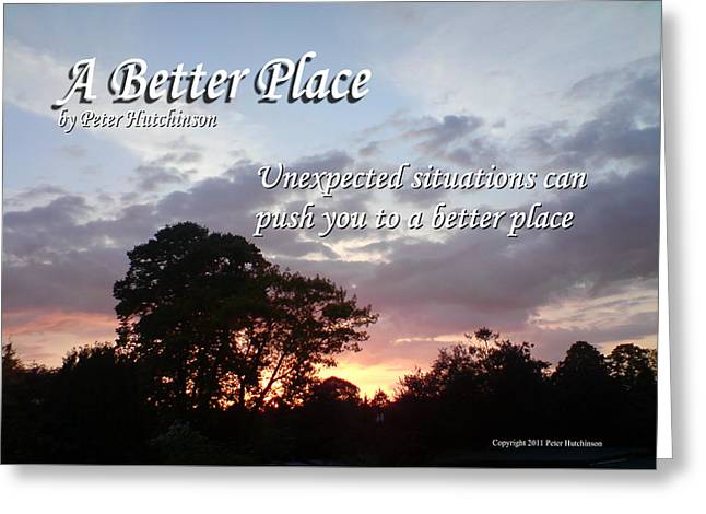 A Better Place Greeting Card