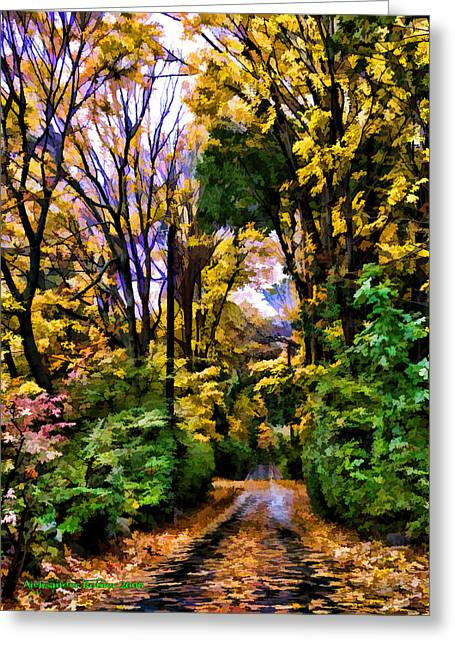 A Bit Of Autumn Greeting Card