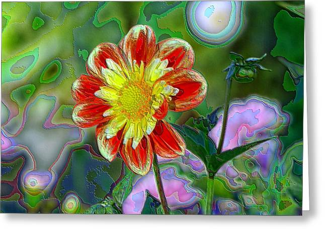 A Blooming Smile  Greeting Card by Jeff Swan
