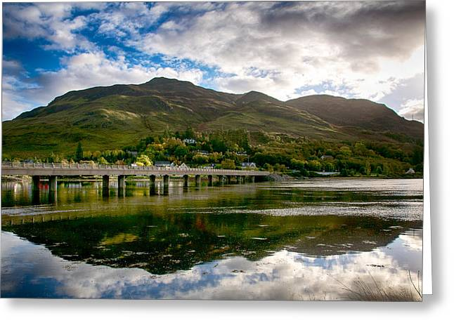 Greeting Card featuring the photograph A Bonny Day In Dornie Scotland by Trever Miller