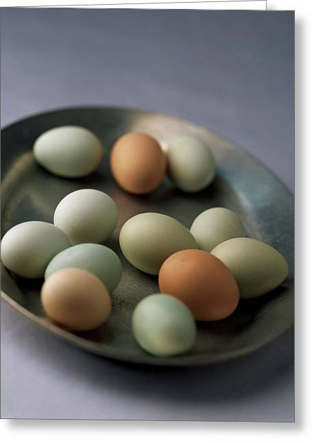 A Bowl Of Eggs Greeting Card