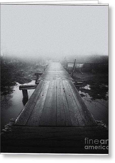 A Bridge To Neverland Greeting Card by James Yang