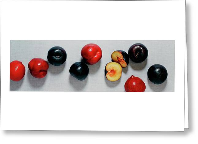 A Bunch Of Plums Greeting Card