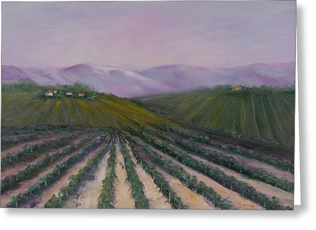 A California Morning Greeting Card by Darice Machel McGuire