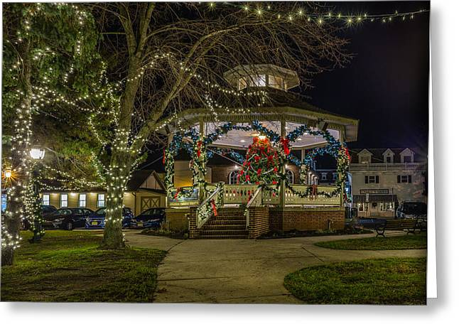 A Cape May Christmas Greeting Card by Capt Gerry Hare