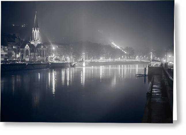 Greeting Card featuring the photograph A Cathedral In The Mist II by Stwayne Keubrick