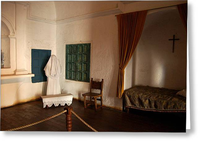 A Cell In Santa Catalina Monastery Greeting Card by RicardMN Photography