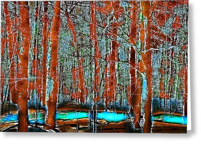 A Change In The Seasons II Greeting Card by David Patterson