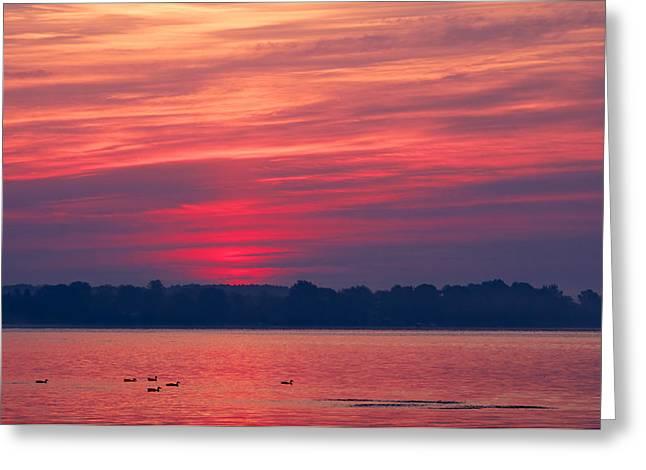 A Chesapeake Bay Sunrise Greeting Card