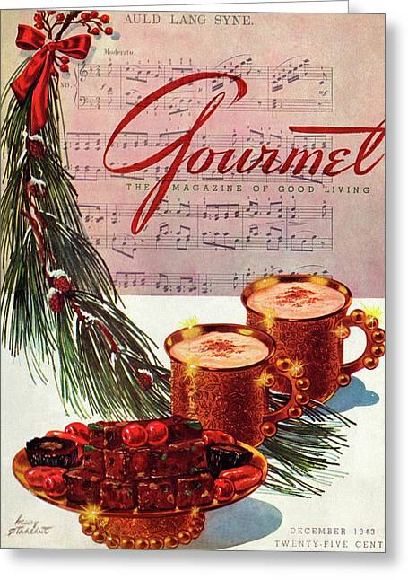 A Christmas Gourmet Cover Greeting Card