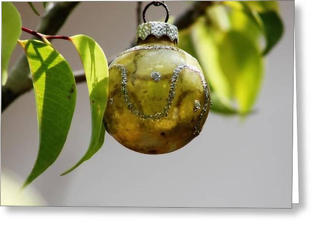 A Christmas Ornament Any Tree Greeting Card by Carolina Liechtenstein