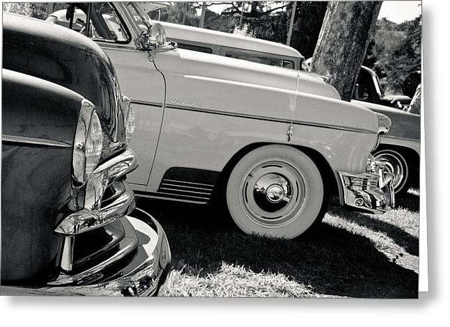 A Classic View Greeting Card by Merrick Imagery