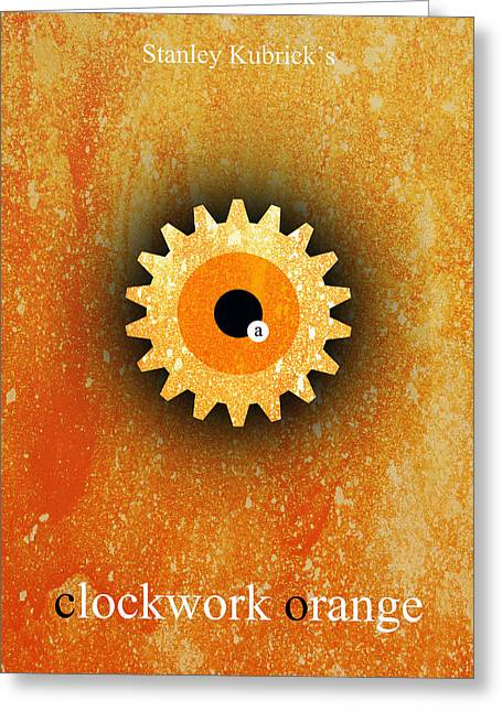 A Clockwork Orange Greeting Card by Filippo B