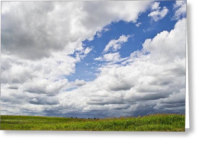 A Cloudy Day Greeting Card