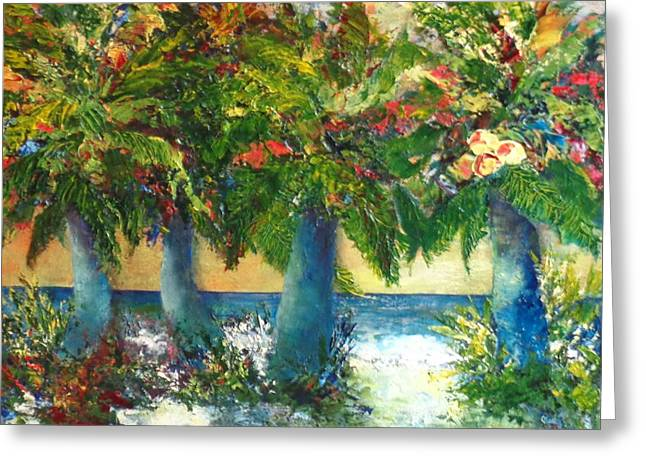 A Color Symphony Greeting Card by Annie St Martin