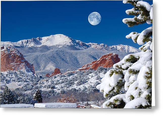 A Colorado Christmas Greeting Card by John Hoffman