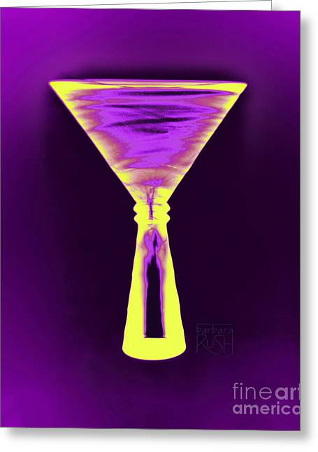 A Complementary Martini Greeting Card