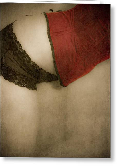 A Corset Story #02 Greeting Card by Loriental Photography