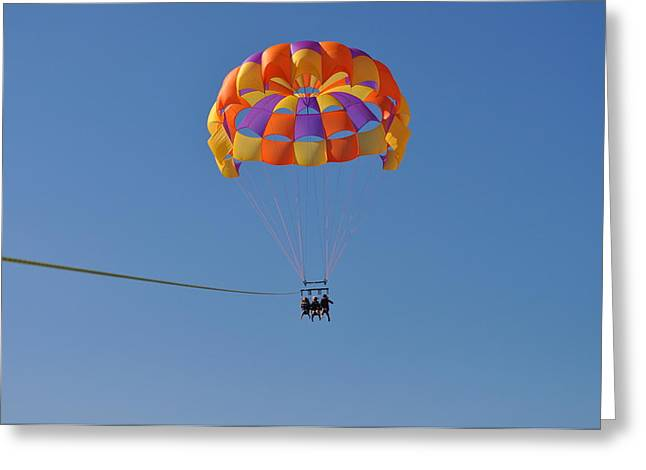 A Day In The Sky Greeting Card by Amanda Just