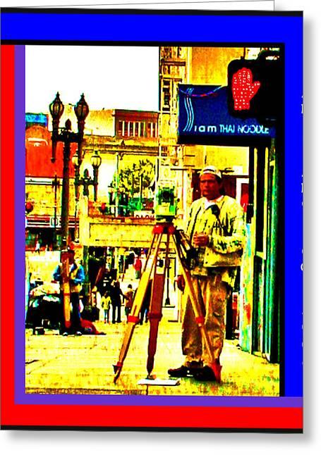 A Day Job In San Francisco Greeting Card