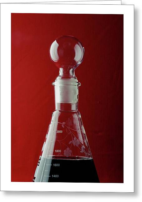A Decanter Greeting Card