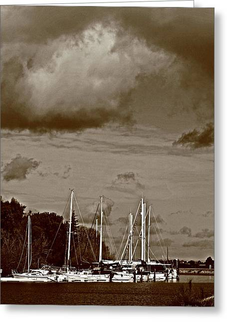 A Delta Storm  Greeting Card by Joseph Coulombe