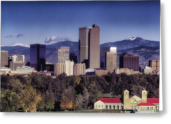 A Denver Autumn Greeting Card