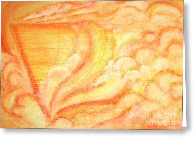 A Door Ship Greeting Card by Heather  Hiland