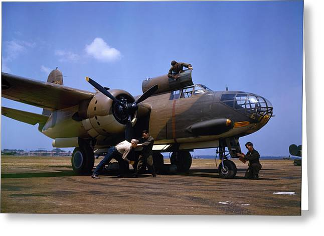 A Douglas A-20c-bo Havoc 1942 Greeting Card by Celestial Images