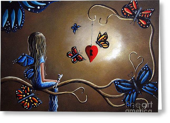 A Fairy's Heart Has Many Secrets Greeting Card