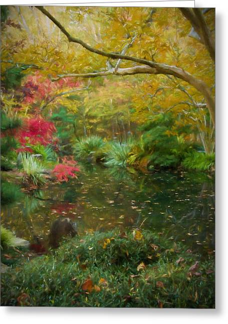 A Fall Afternoon Greeting Card