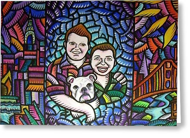 A Family Portrait 2010 Greeting Card