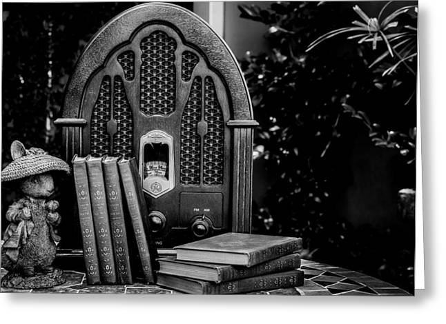 A Father's Garden Retreat Greeting Card by Kaleidoscopik Photography