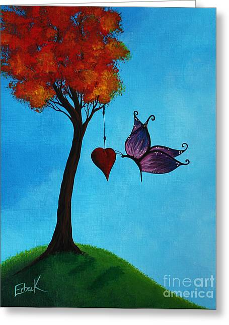 A Forever Moment Greeting Card by Shawna Erback