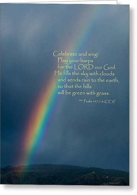 A Gift From God Greeting Card by Mick Anderson