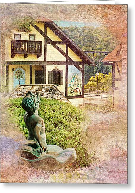 A Glimpse Of Bavaria In West Virginia Greeting Card