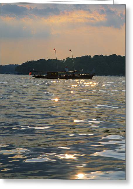 A Glint Of Glory - Lake Geneva Wisconsin Greeting Card