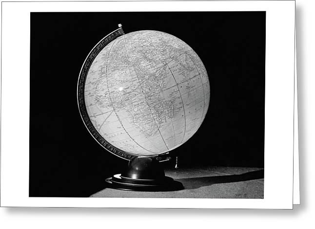 A Globe Lamp Greeting Card
