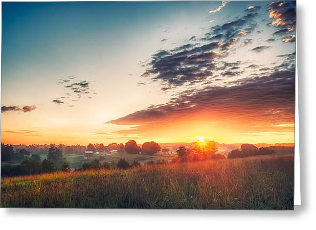 A Goode Sunrise Greeting Card