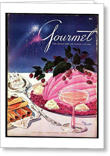 A Gourmet Cover Of Mousse Greeting Card