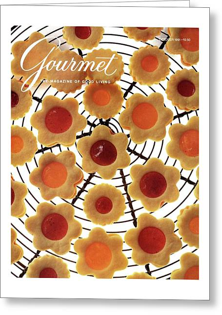 A Gourmet Cover Of Sunny Savaroffs Cookies Greeting Card