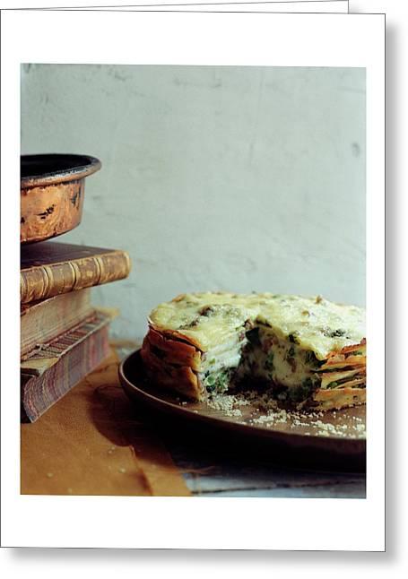 A Gourmet Torte Greeting Card