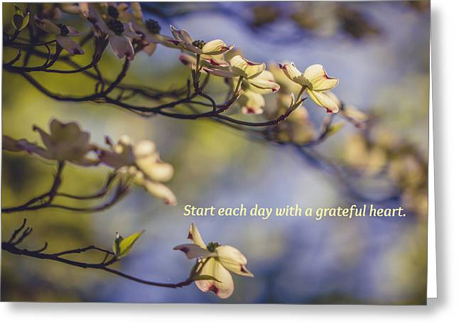 A Grateful Heart Greeting Card