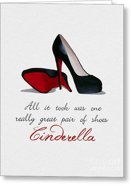 A Great Pair Of Shoes Greeting Card