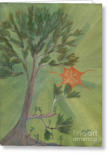 A Great Tree Grows Greeting Card