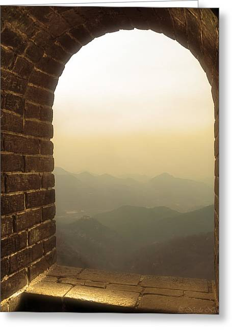 A Great View Of China Greeting Card