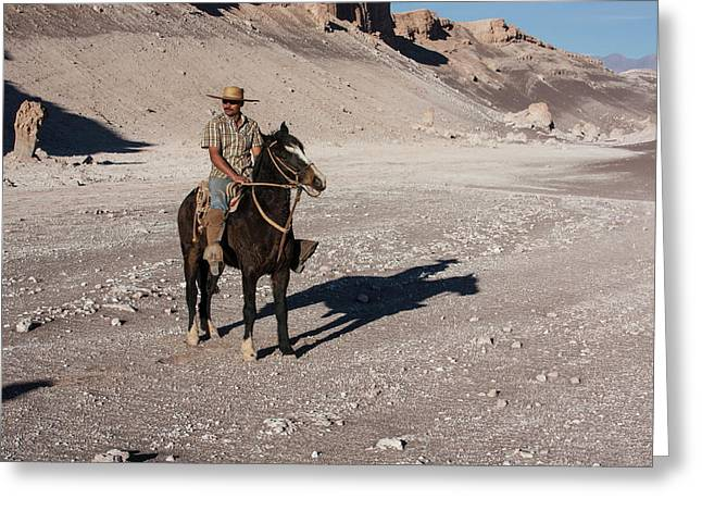 A Guided Ride Through The Death Valley Greeting Card