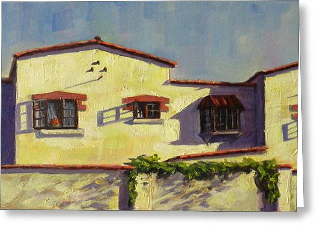 A Home In Barranco Greeting Card